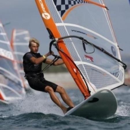 I miejsce w regatach windsurfingowych