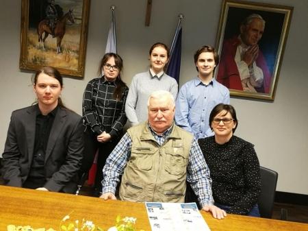 Spotkanie z Lechem Wałęsą