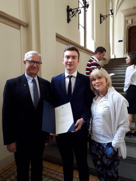 Uczeń II LO zdobywa Indeks na Uniwersytet Jagielloński!