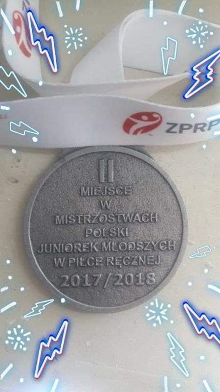 Uczennica klasy 1d wicemistrzem Polski!