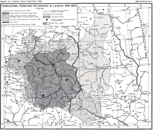 Wywalczyć Polskę - kształtowanie się granic Niepodległej