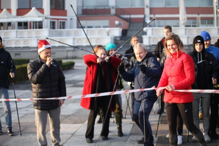 YOUNG 4 YOUNG nordic walking Sopot, 5.12.2019!